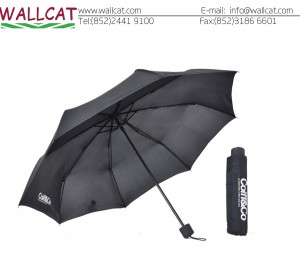 鉄三折雨傘